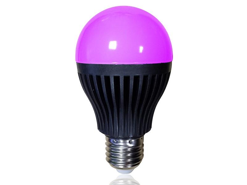 funk oder wlan steuern 8 w led lampe e27. Black Bedroom Furniture Sets. Home Design Ideas