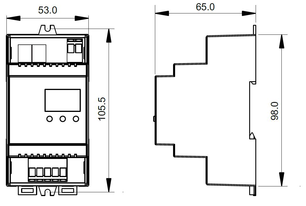 4 kanal dmx 512 decoder konstantspannung mit rj45