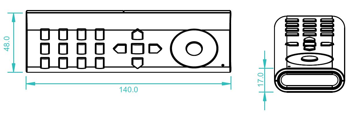 Bessere-Technik - Sunricher RGB-W Funk Fernbedienung