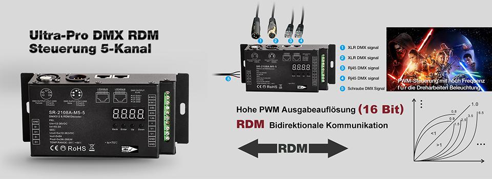 DMX RDM Decoder