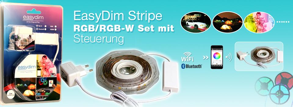 EasyDim RGB/RGBW DIY Bausätze